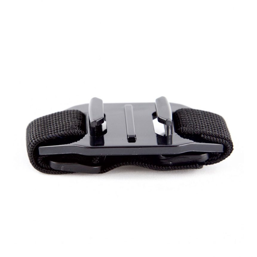 Vented Helmet Mount for Action Cameras by Olfi