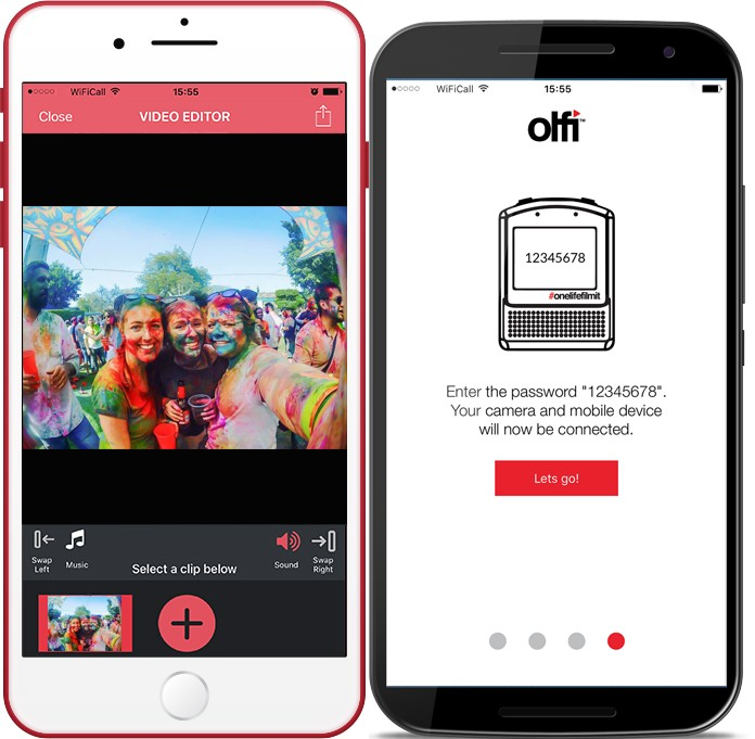 Olfi Smartphone App