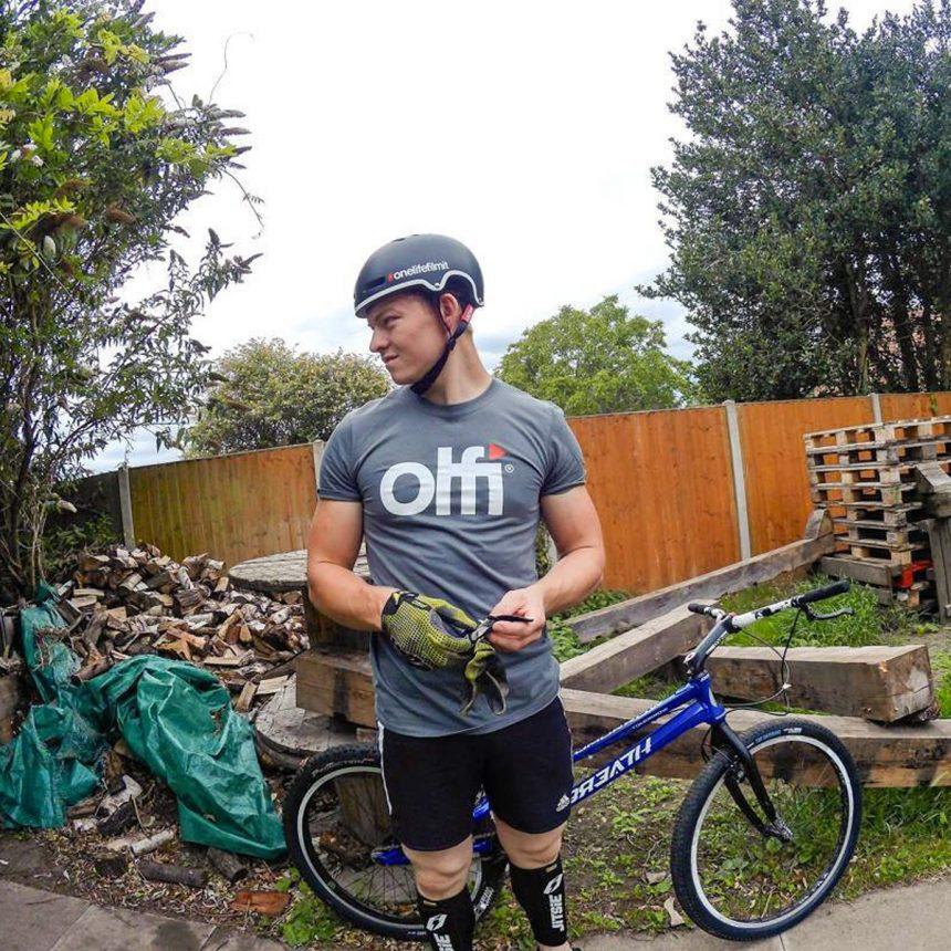 Olfi T-Shirt on Ryan Crisp