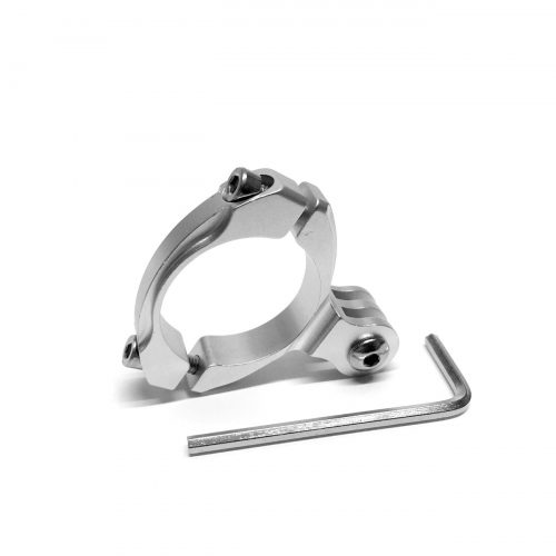 Aluminum Bar Mount for Action Cameras by Olfi (Silver)