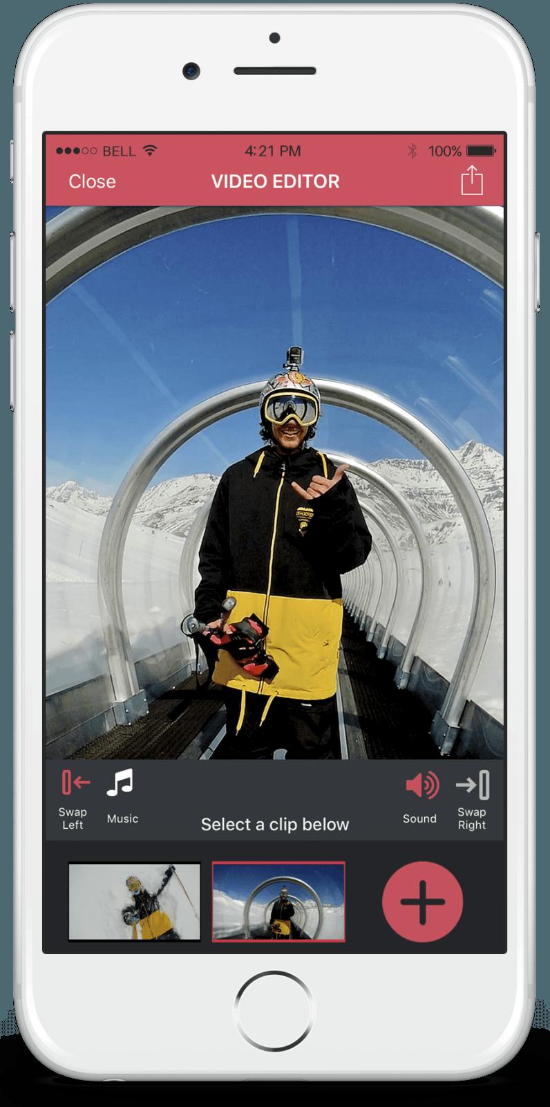 Olfi Smartphone App Video Editor