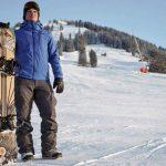 Olfi® Camera - Jamie Barrow with snowboard